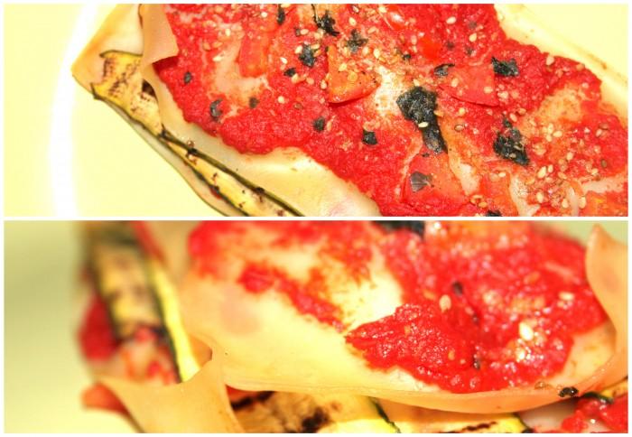 lasagne alle verdure senza besciamella