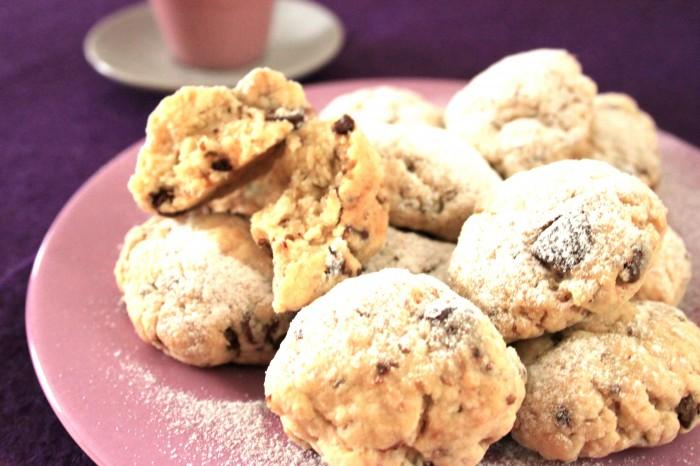 biscotti all'anice e cioccolato