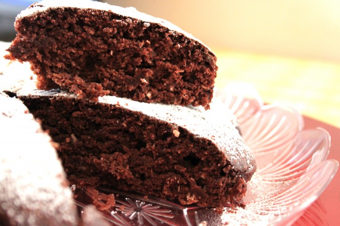 torta al cioccolato vegan