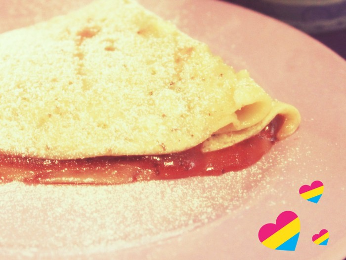 crepes dolci senza uova strawberry dream