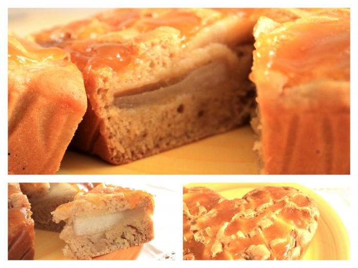 torta vegana senza olio pere ed arancia