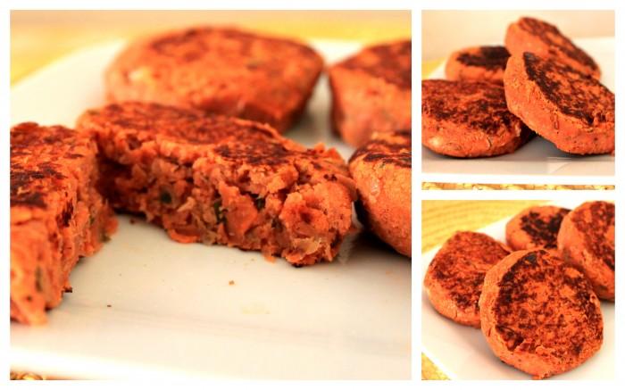 burger di lenticchie vegan