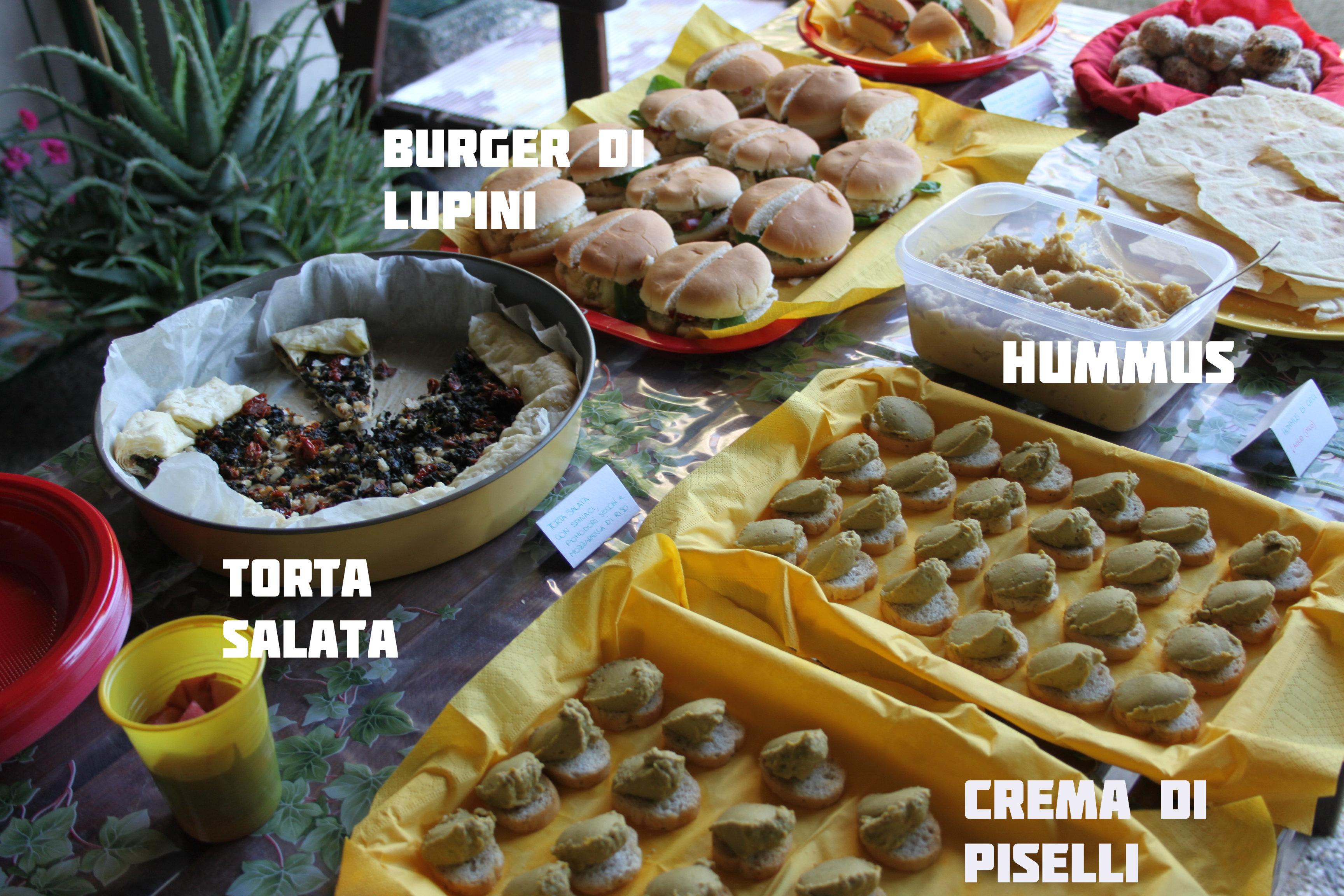 Aperitivo vegano ricette apericena vegan for Idee per aperitivo a casa