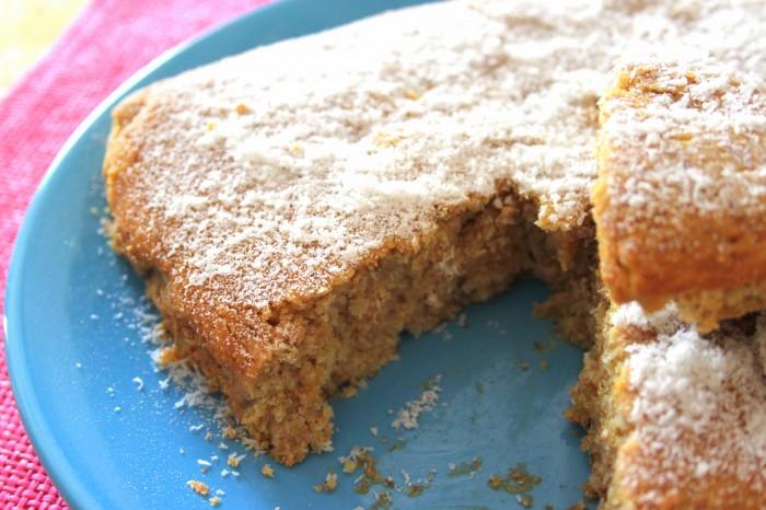 torta allo zenzero vegan