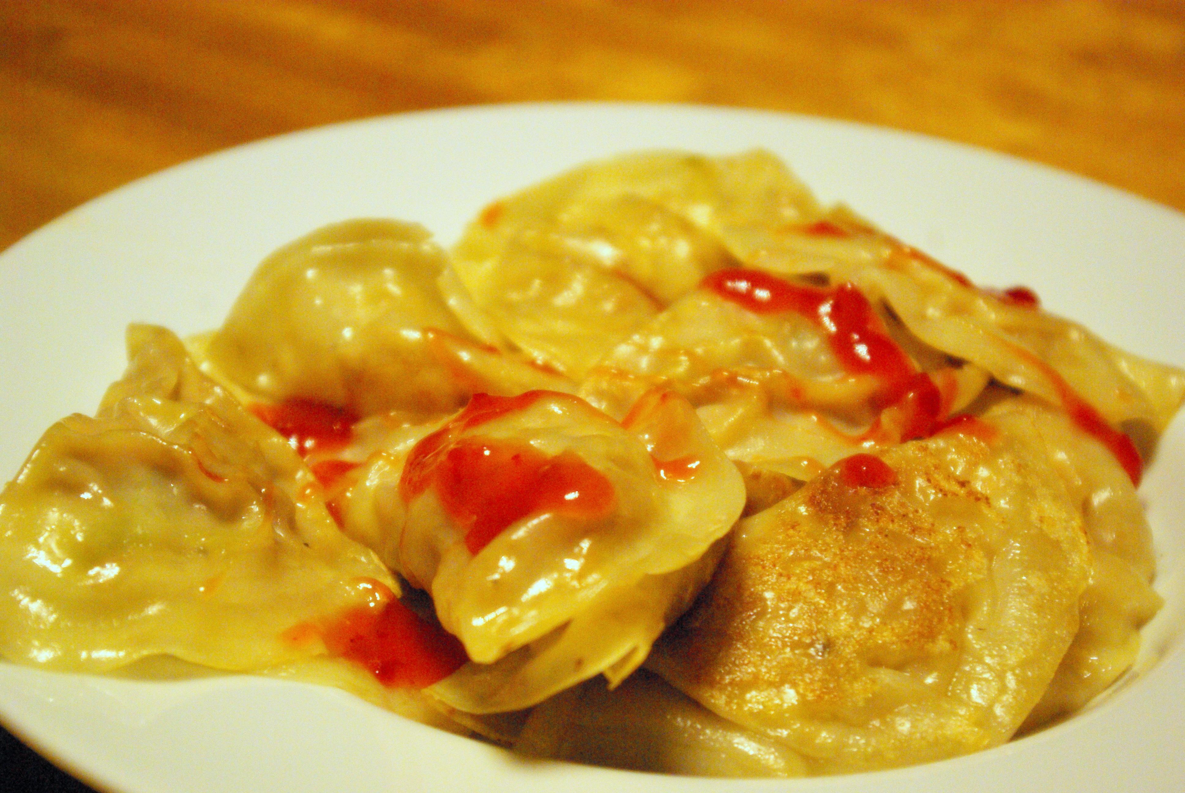 ravioli cinesi vegan