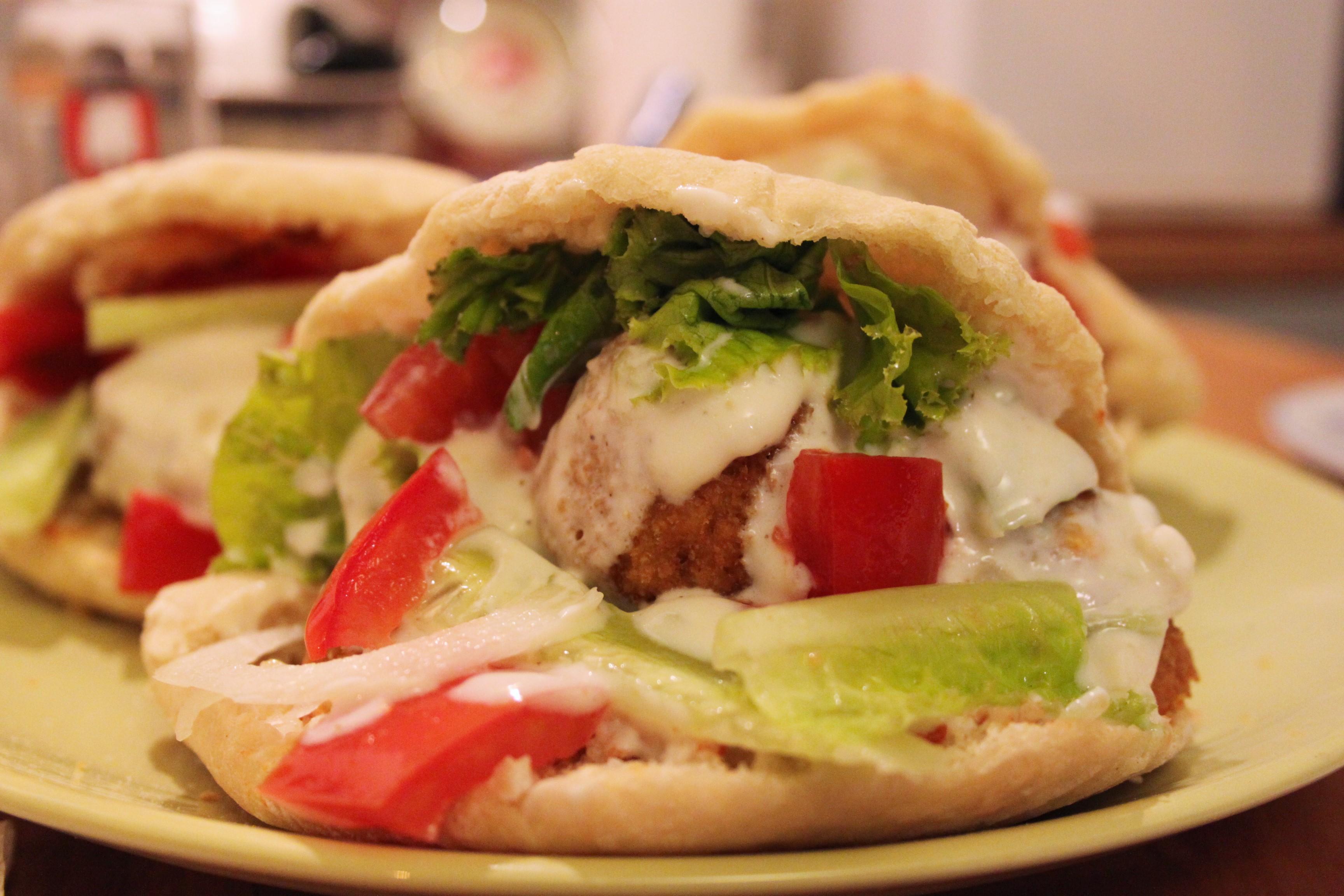 Falafel vegan con Harissa