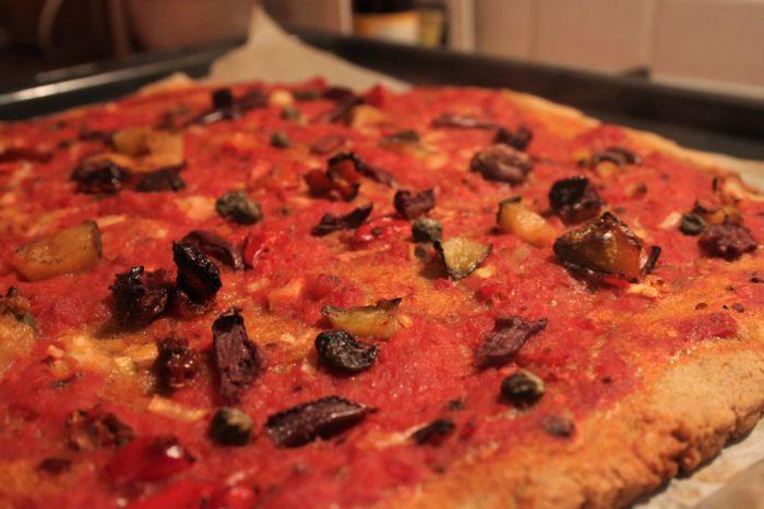 Pizza senza glutine: la ricetta vegan