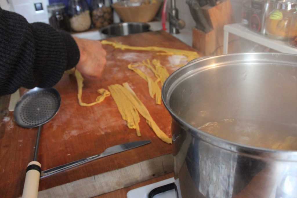 Pasta fresca vegan fatta in casa