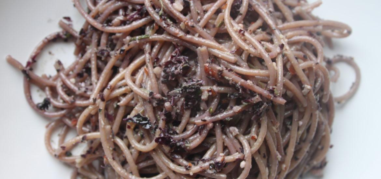 Pesto di cavolo riccio -ricetta veloce