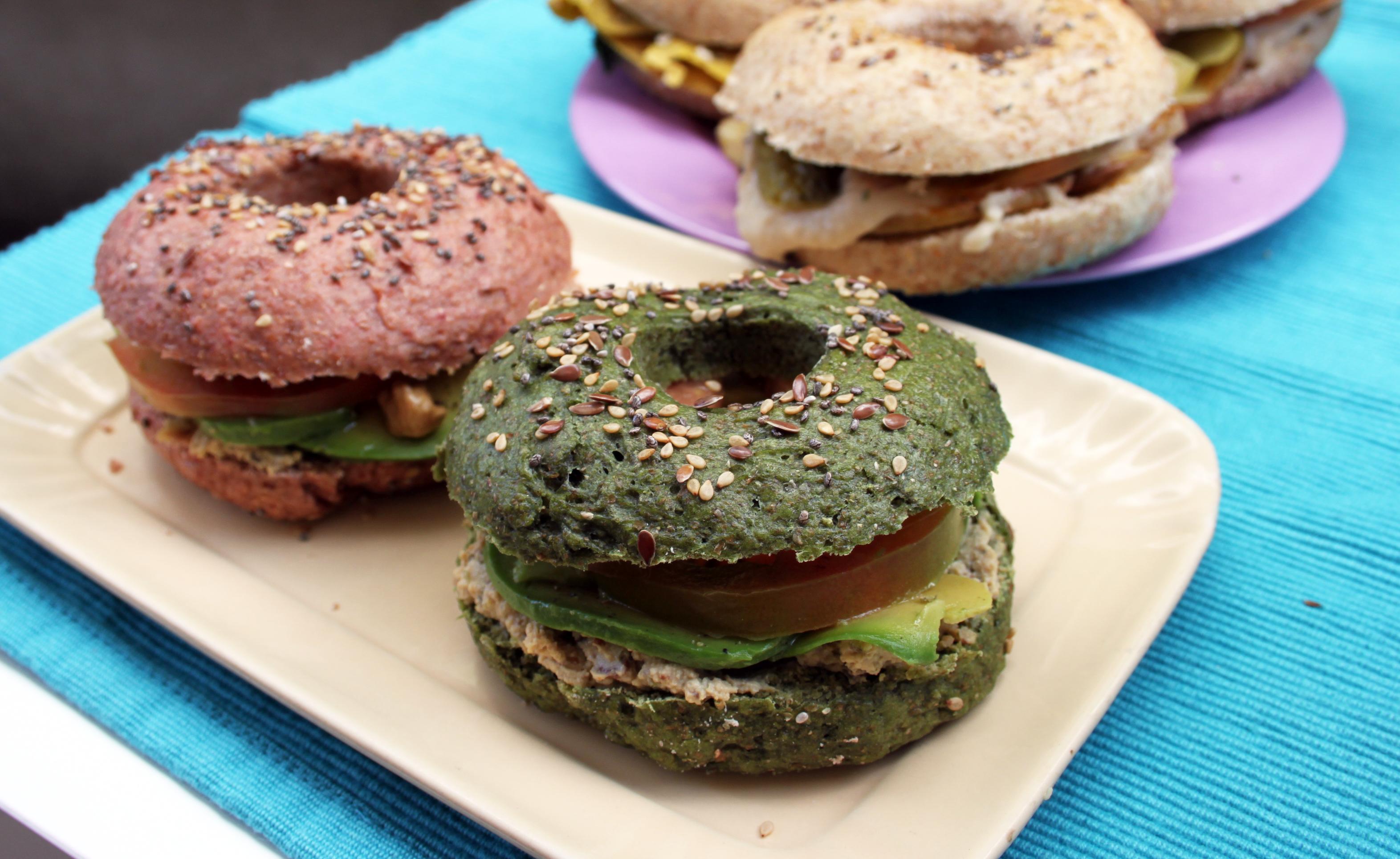 Ricetta facile bagel vegan