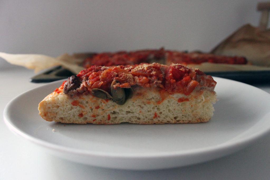 sfincione vegano ricetta