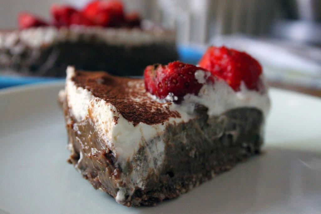torta crudista al cioccolato vegan ricetta