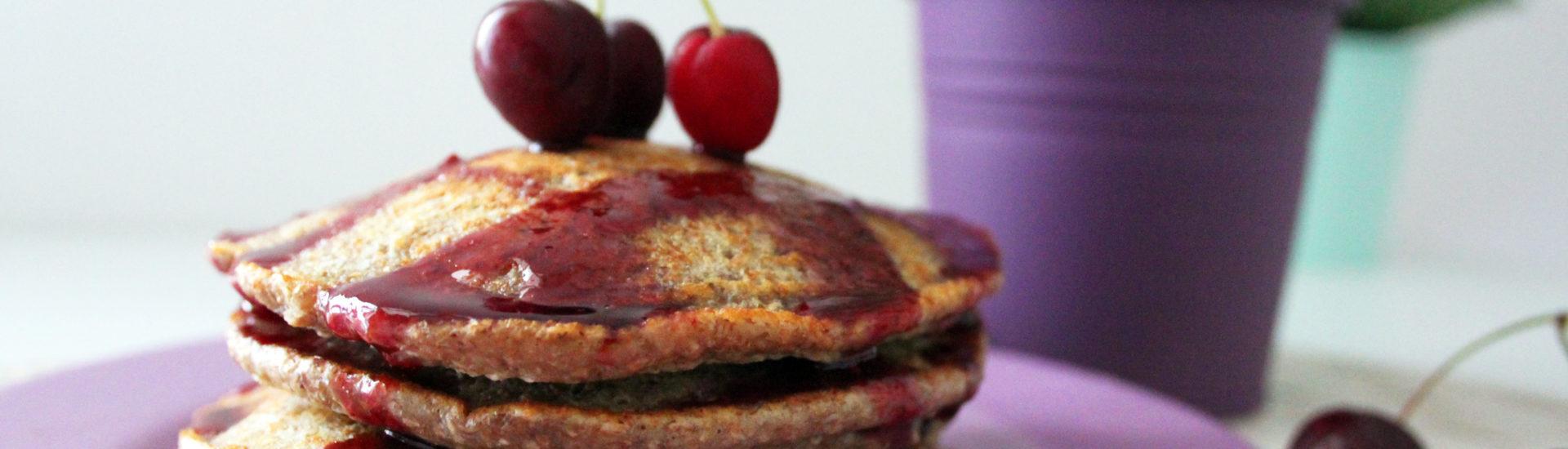 pancake vegan integrali senza zucchero