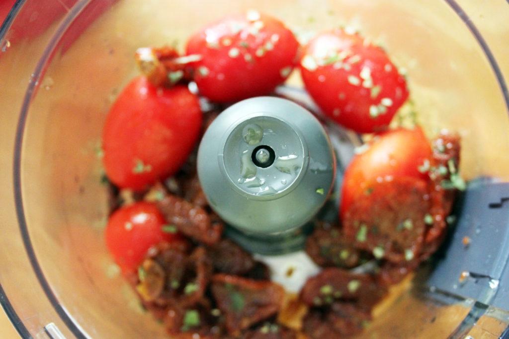 salsa di pomodoro crudista