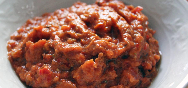 salsa di pomdoro crudista ricetta