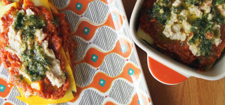 lasagne crudiste di zucchine ricetta