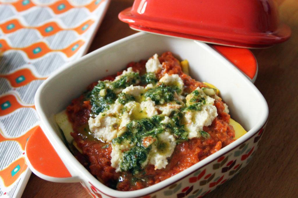 lasagne crudiste di zucchine ricetta vegan