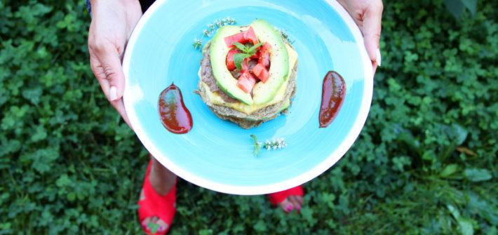pancake salati vegan senza uova