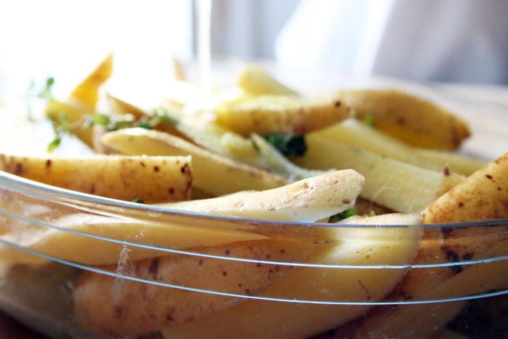 patate greche al limone