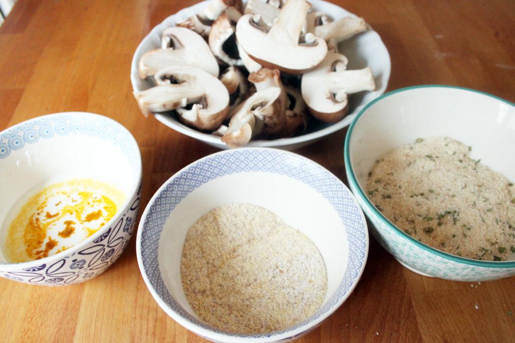 funghi fritti pastella senza uova