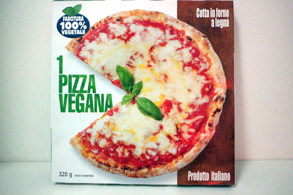 pizza vegan surgelata