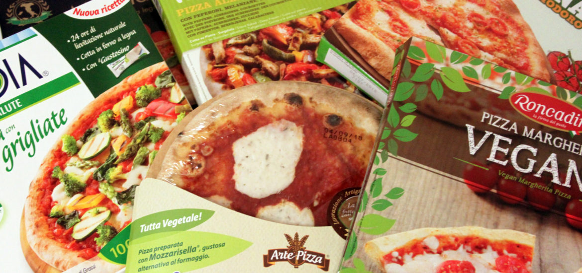 pizze vegan surgelate supermercato