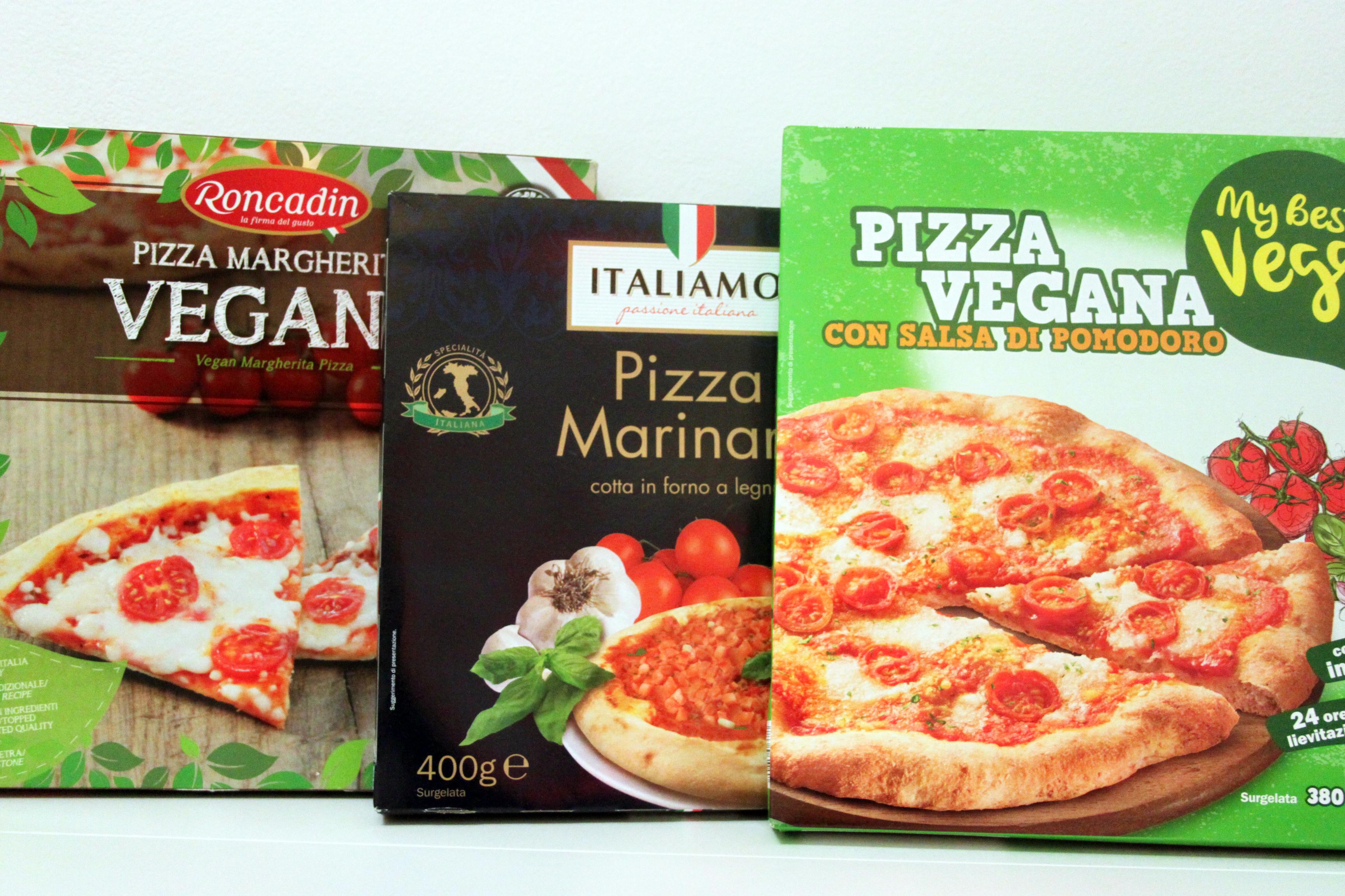 pizza vegan surgelata