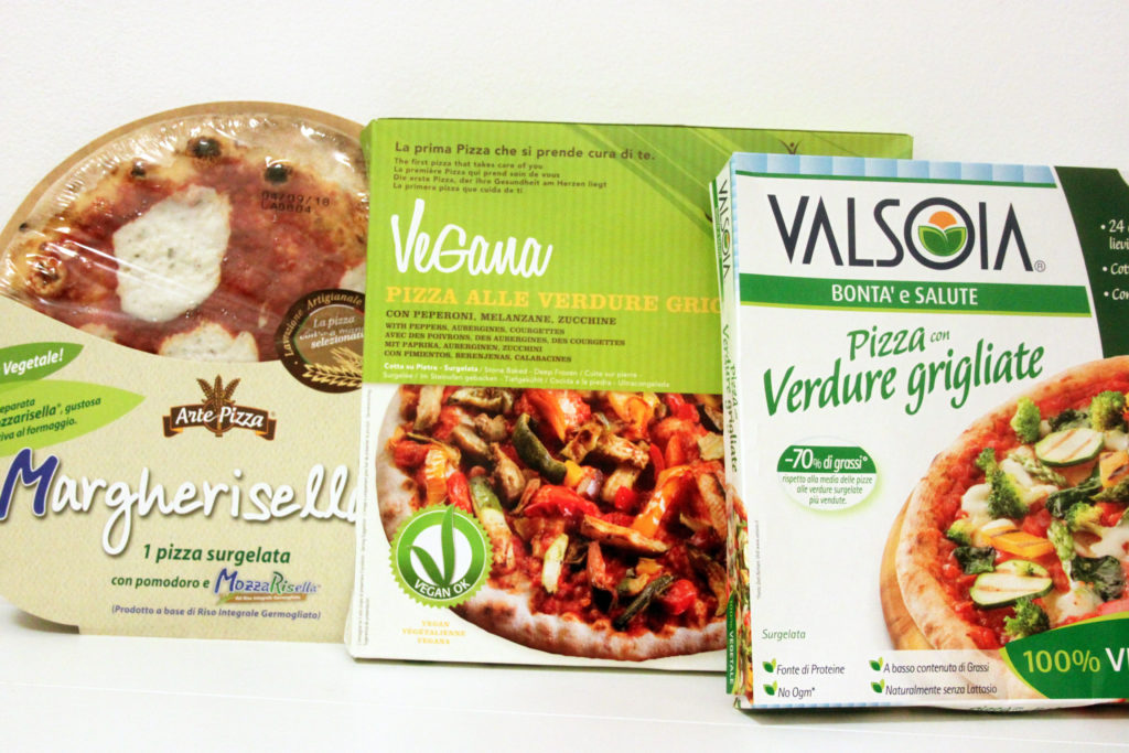 pizza vegan surgelata supermercato