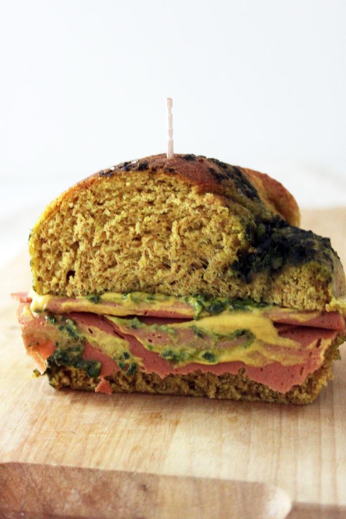 pan brioche salato vegan