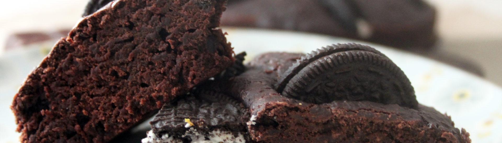 vegan oreo brownies ricetta