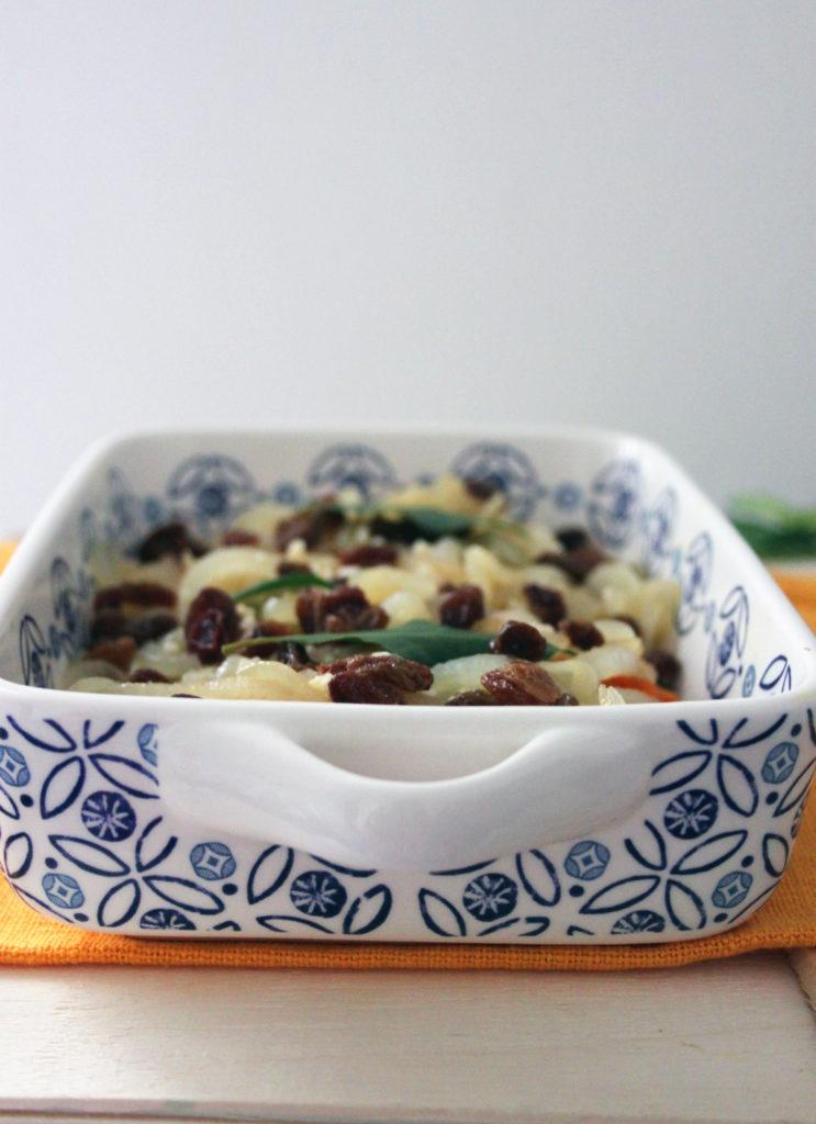 zucca in saor al forno ricetta vegan