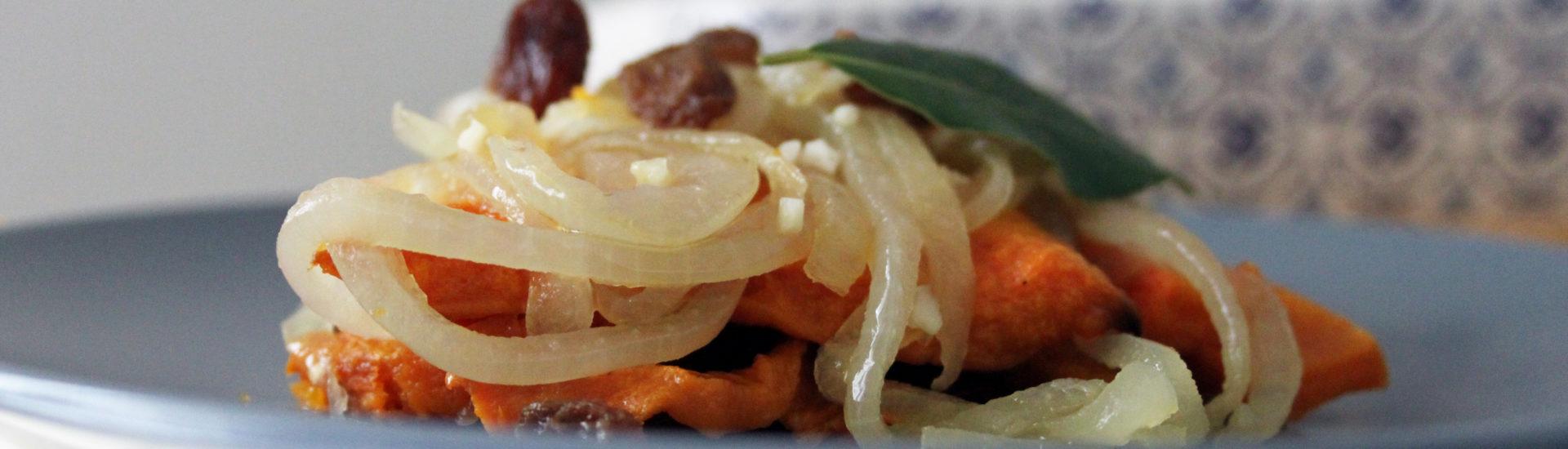 zucca in saor al forno ricetta