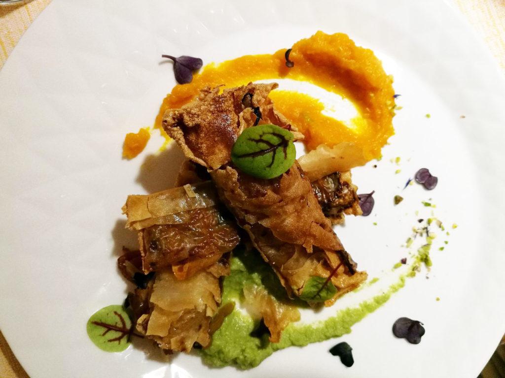 ristorante menu vegano sughero venezia mestre