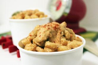 mac and cheese vegan ricetta