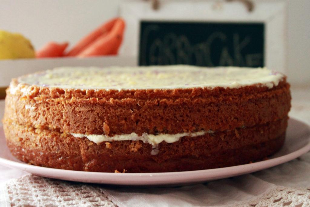 carrot cake vegan ricette