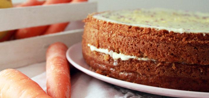 carrot cake vegan ricetta