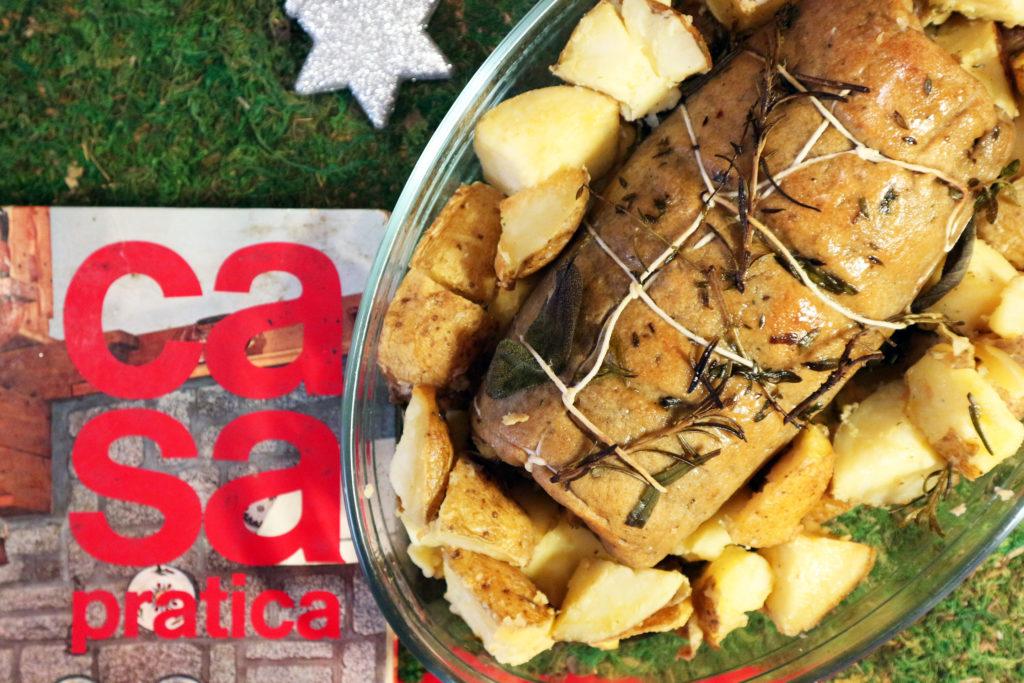arrosto vegano ripieno ricetta con il seitan