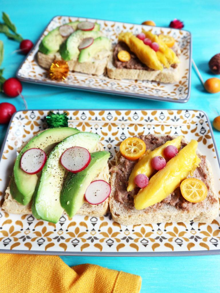 avocado toast vegan ricetta