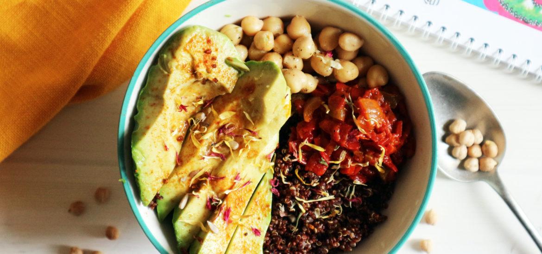 buddha bowl vegan ricetta