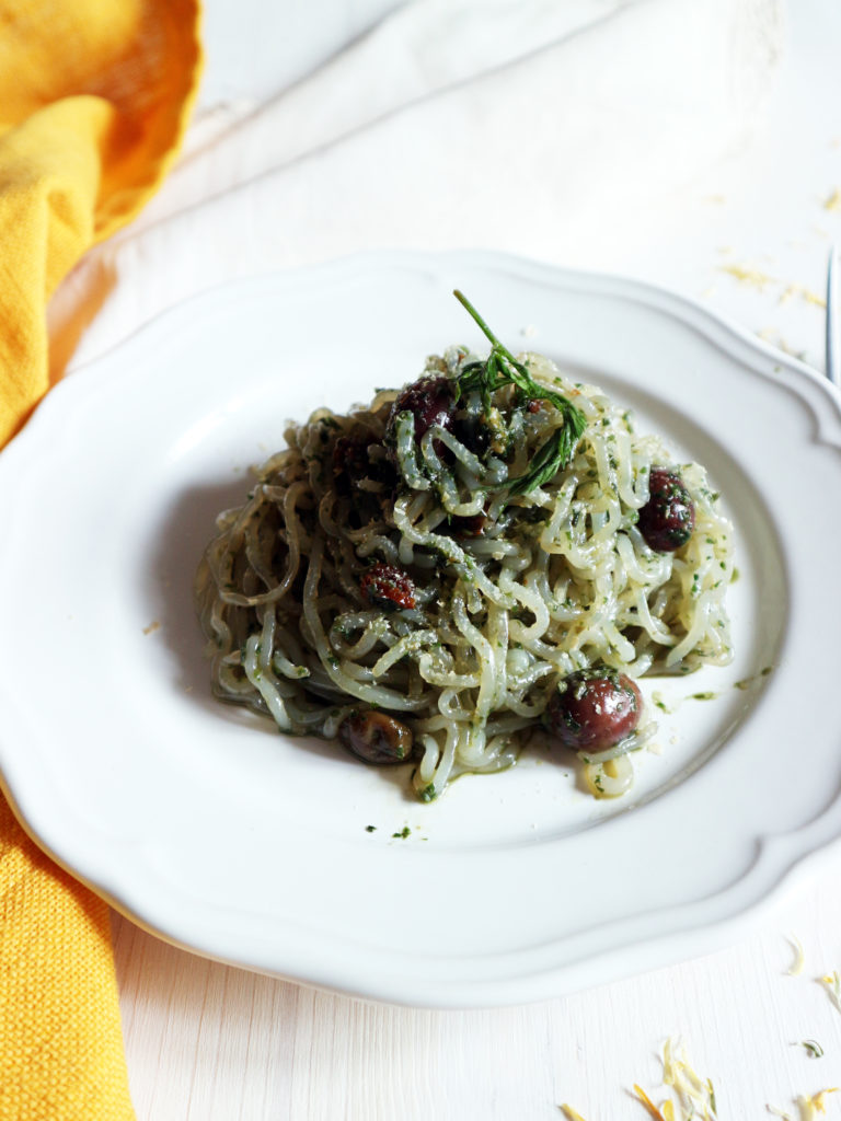 spaghetti di konjac ricette