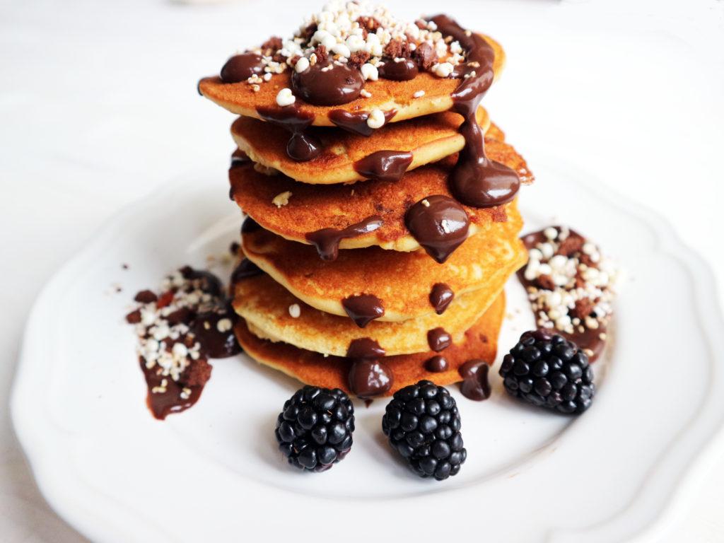 pancake vegan senza glutine ricetta