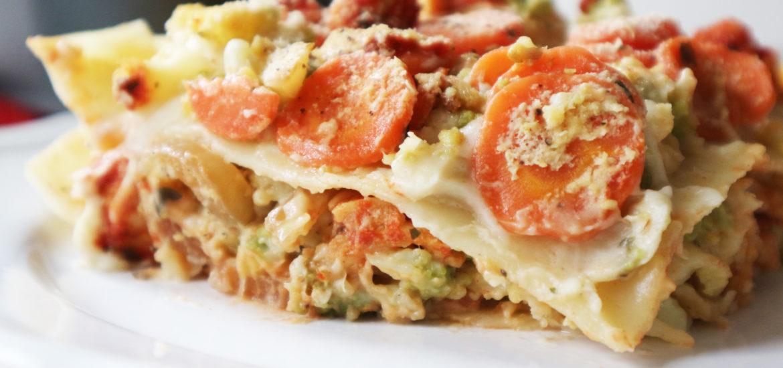 ricetta lasagne vegan alle verdure