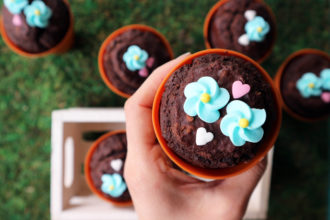 muffin vegan cioccolato fondente ricetta