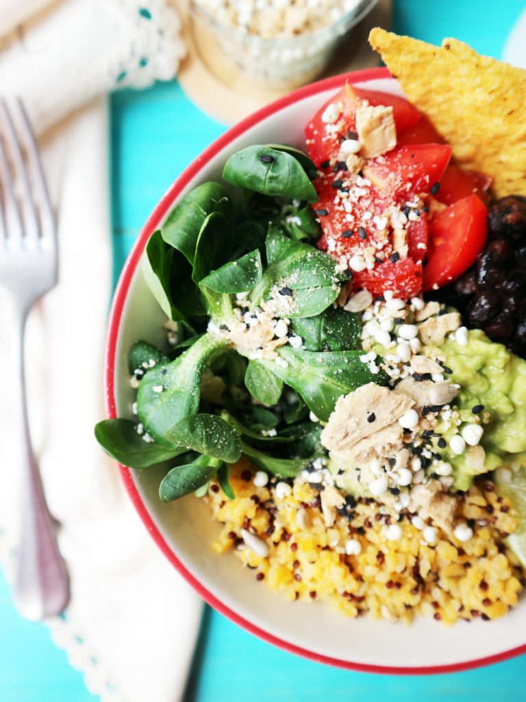 mexican bowl ricetta