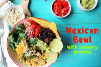 Mexican Bowl vegan ricetta
