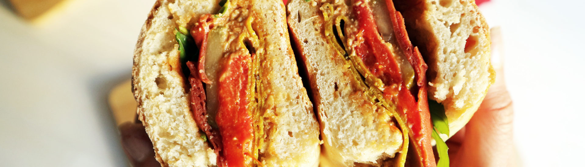 panino vegano ricetta