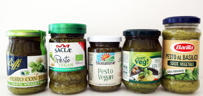 pesto vegano marche test