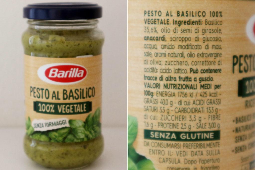 pesto vegano Barilla
