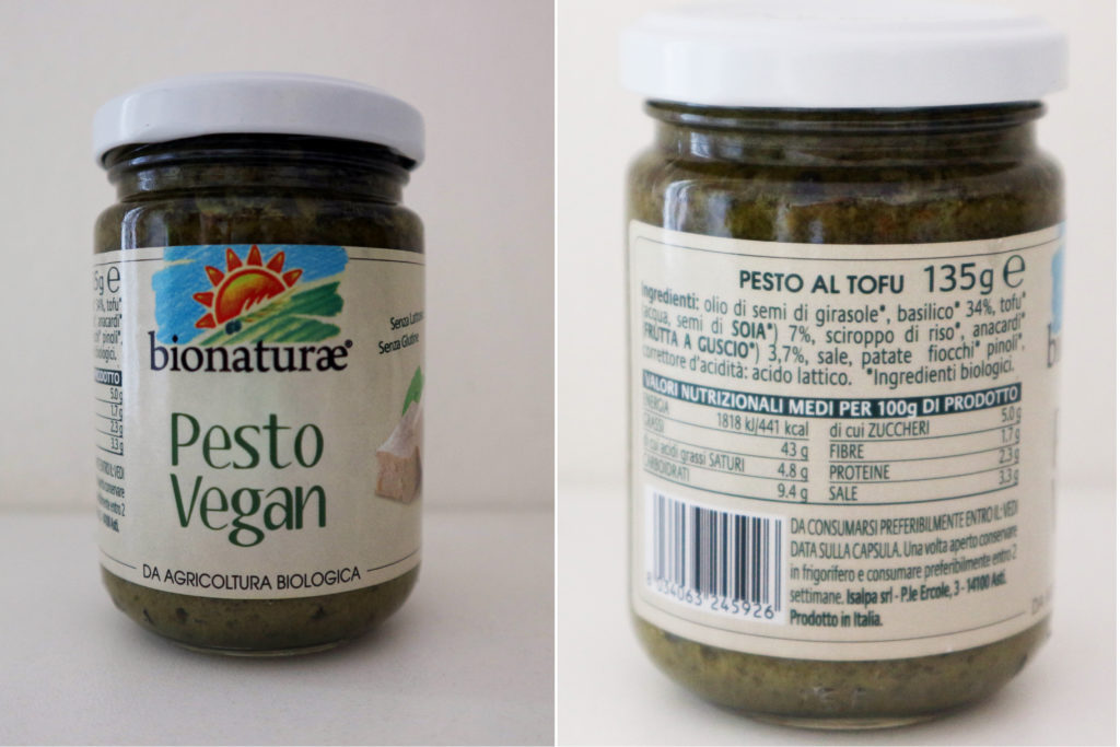 pesto vegan bionaturae