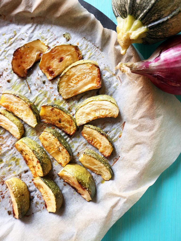 pesto vegan con zucchine e pesto